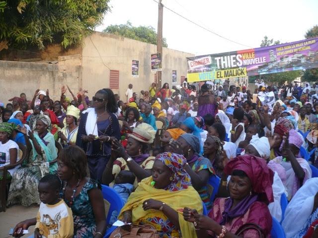Locales- Le candidat El Malick Seck continue sa percée à Thiès: les images de son meeting à Hersent (Photos)