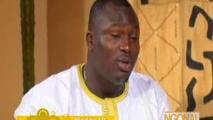 Ngonal reçoit le lutteur Modou Lo - 14 Mars 2014