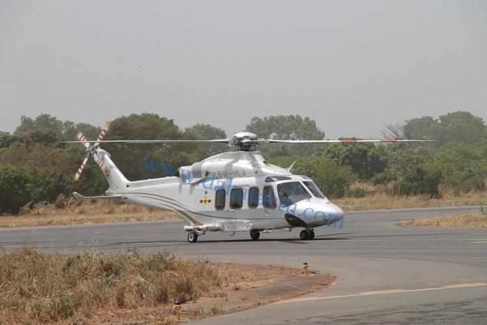 Arrivée de Macky Sall à Ziguinchor : Voici le tout nouvel hélicoptère du Président de la République