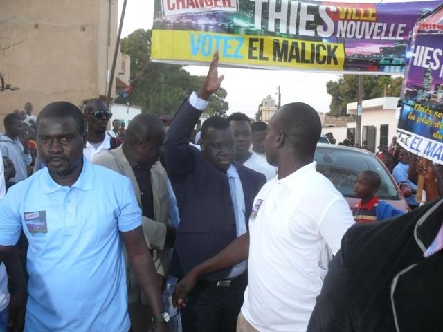 Thiès : El Malick Seck fait un tabac à Cité Lamy et met le fief de Maodo Malick Mbaye dans sa poche (Photos)