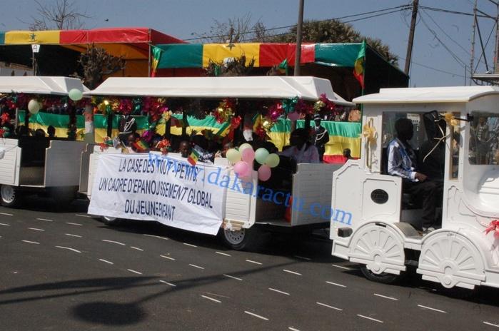 Défilé 4 avril: Les images à la fois émouvantes, rassurantes et porteuses d'espoir