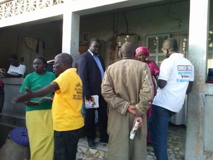 El Malick Seck en campagne de proximité : Il parle et rencontre directement les populations à Thiès (Photos)