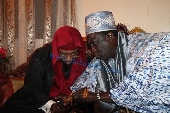 Tournée de Sheikh Alassane Sène chez certains chefs coutumiers et foyers religieux du Sénégal :   Le marabout entame ses visites par le  Grand Serigne de Dakar Papa Ibrahima Diagne