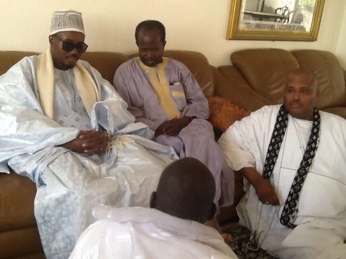Mamadou Diagna Ndiaye hier à Touba :  Il présentait ses condoléances à Serigne Bass Abdou Khadre
