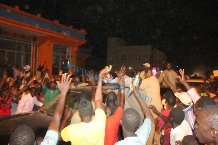 Les images de la grande mobilisation des partisans de Me Wade à Touba