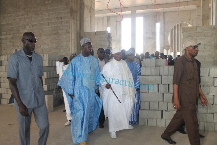 Visite du chantier de la mosquée « Massalikoul Djinan » : Abdoulaye Wade satisfait de l'état d'avancement des travaux