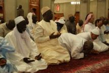 Le Président Macky Sall à Uhut et Quba, en compagnie de dignitaires religieux