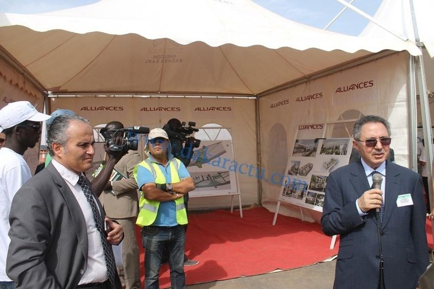 Les images de la visite de chantier du Président Macky Sall à Diamniadio