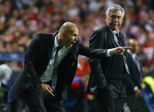 L'incroyable image de Zin�dine Zidane