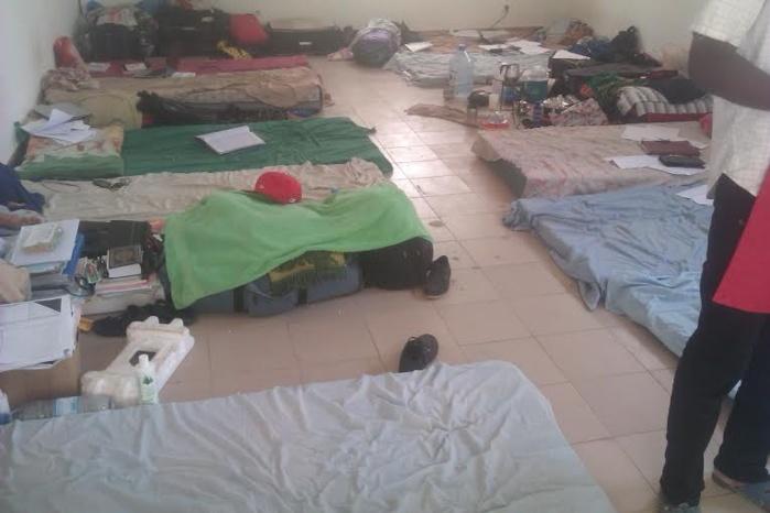 Incroyable mais vrai à l'Université de Bambey : 14 étudiants dans une chambre!