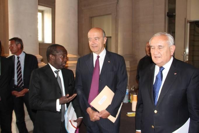 Invité spécial d'un diner-débat sur l'Afrique, l'UE et la Mondialisation,  Mamadou Diagna N'diaye étale les charmes d'une Afrique incontournable