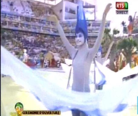 La cérémonie d'ouverture de la Coupe du monde