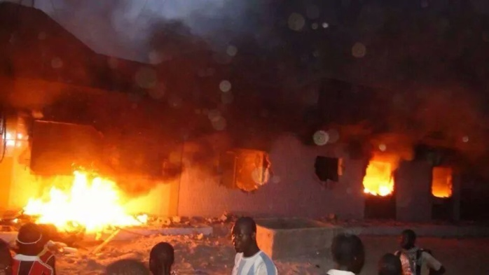 Incendie chez Cissé Lô- 19 assaillants aux arrêts dans un lieu secret