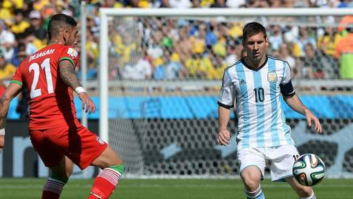 Eclair de génie de Messi, l'Argentine s'en sort bien