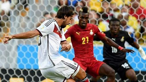 Le Ghana tient tête à l'Allemagne (2-2)