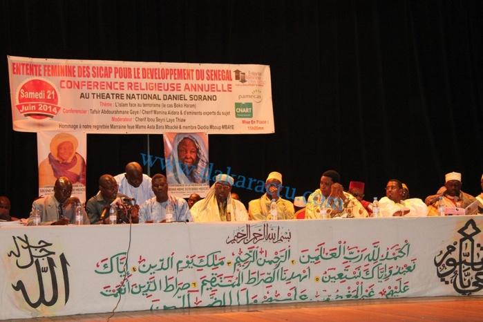 Les images de la Conférence religieuse de l'Entente féminine des Sicap sous le thème : l'islam face au terrorisme ( LE CAS BOKO HARAM)