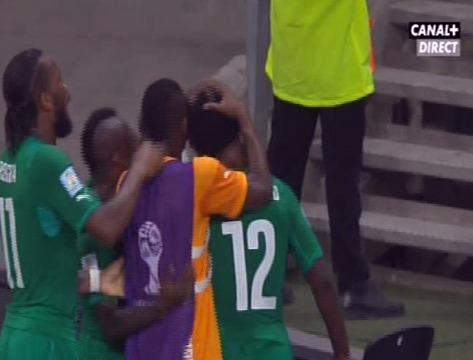 Coupe du Monde 2014 : la Côte d'Ivoire est éliminée après sa défaite contre la Grèce (1-2)