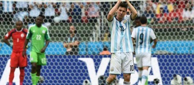 Mondial 2014 : l'Argentine et le Nigéria qualifiés pour les 8e