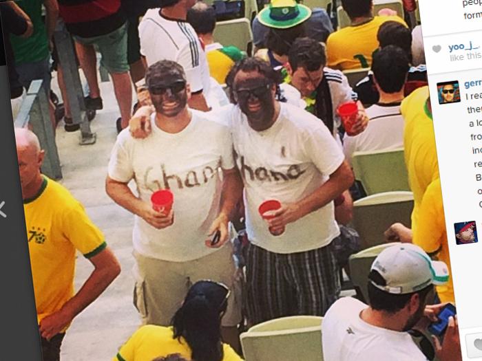 Des supporters se griment en Noirs : la « blackface » fait polémique au Mondial