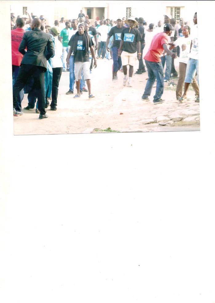 Voici les photos des nervis supposés avoir été envoyés par Bamba Fall lors de l'agression de Gilbraltar