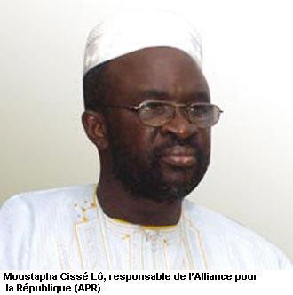 Moustapha Cissé Lô reçu par le Khalife général des mourides