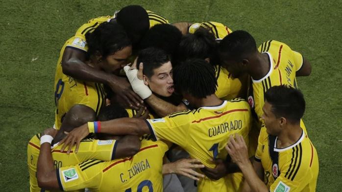 La Colombie élimine l'Uruguay (2-0) et rejoint le Brésil en quart de finale, une première pour elle