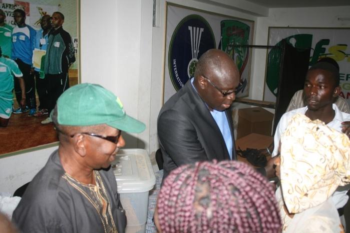 Les images du préfet de Dakar Alioune Badara diop en pleine vérification