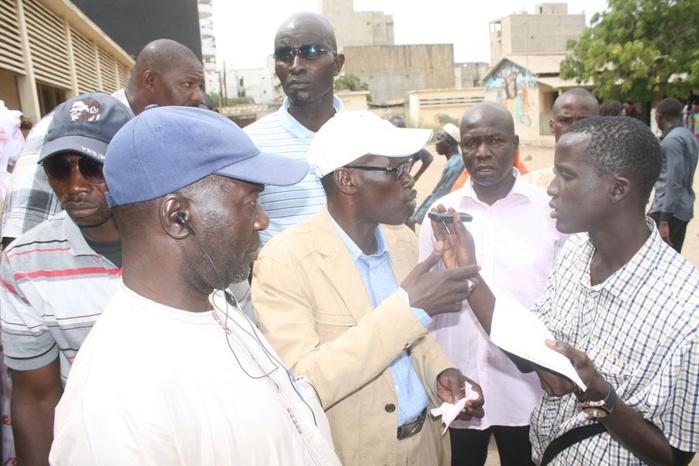 Les images de Seydou Guèye et Sidy Same à l'école de Médina