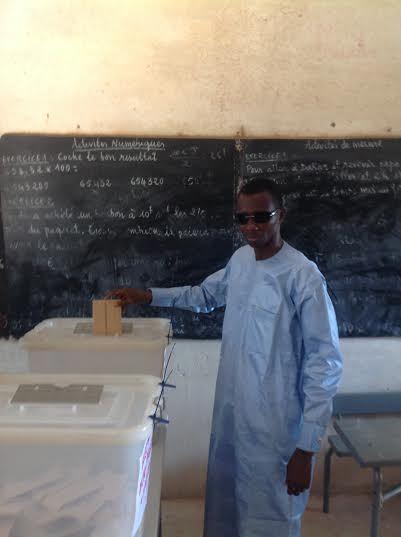 Daouda Dia questeur Assemblée Nationale a accompli son devoir citoyen