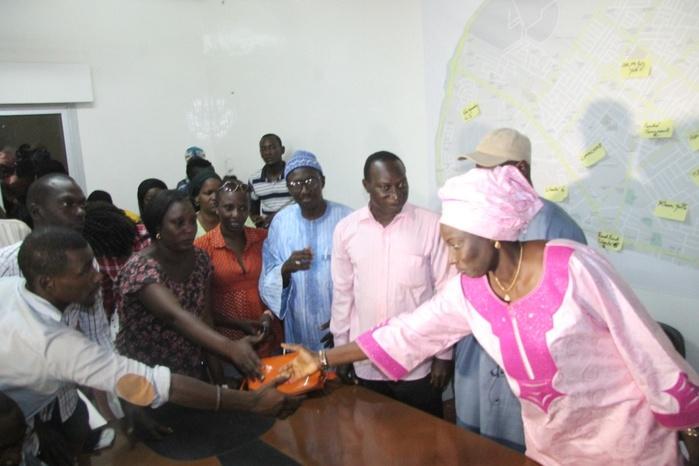 Mimi Touré félicite les vainqueurs et promet de rebondir