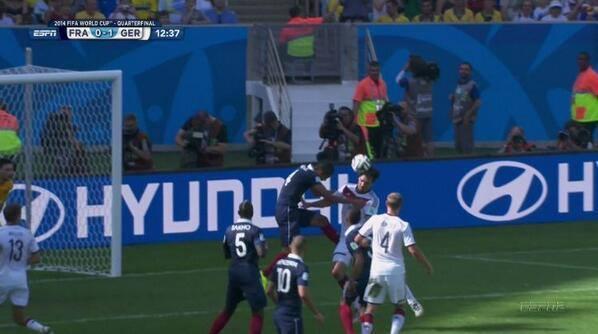 La France s'incline 1-0 face à l'Allemagne, l'aventure s'arrête
