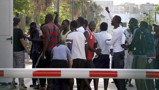 20 blessés dans des heurts entre migrants près de Melilla