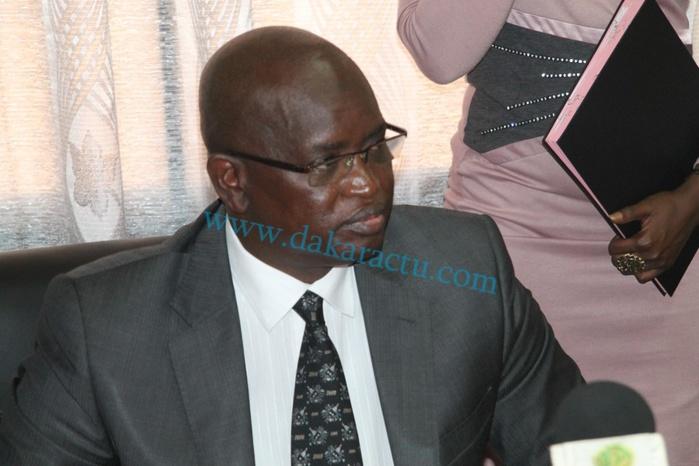 Latif Coulibaly , nouveau Secrétaire Général du Gouvernement