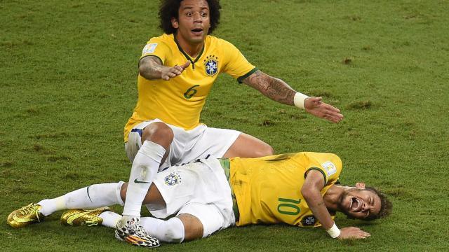 Mondial 2014 : le Brésil au pied de la montagne allemande sans Neymar ni Thiago Silva