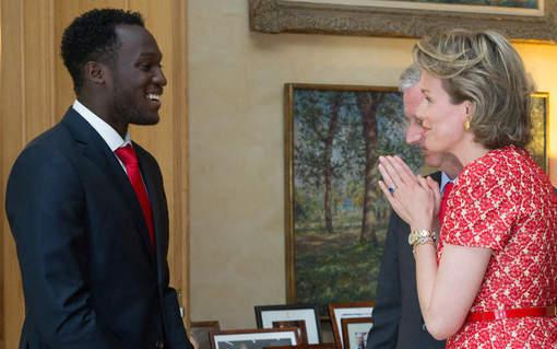 La Reine Mathilde s'excuse auprès de Lukaku