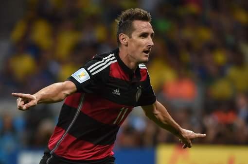 Klose, meilleur buteur de l'histoire du Mondial