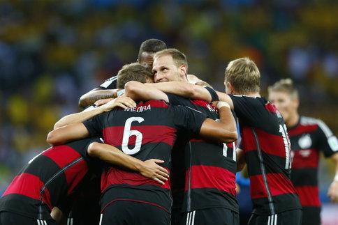 Le Brésil humilié par l'Allemagne
