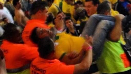 Un fan a tenté d'agresser Fred