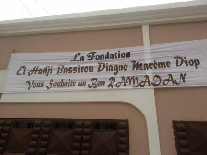 """300 """"paniers N'dogou"""" distribués aux démunis par la Fondation Bassirou Diagne Marème Diop"""