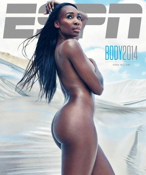 Venus Williams nue pour la couverture d'un magazine