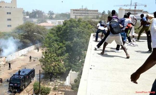 Abdoulaye Baldé à la CREI : Sa « mère » tombe dans les pommes sous le coup des grenades lacrymogènes
