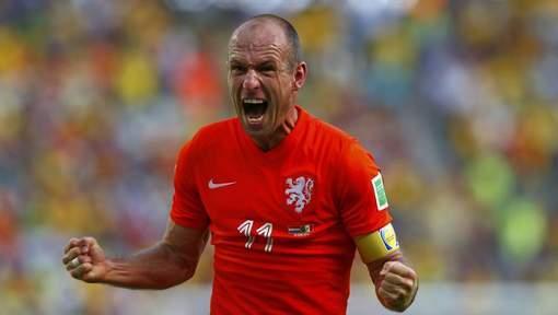 """""""Robben, meilleur joueur du Mondial"""", selon Scolari"""