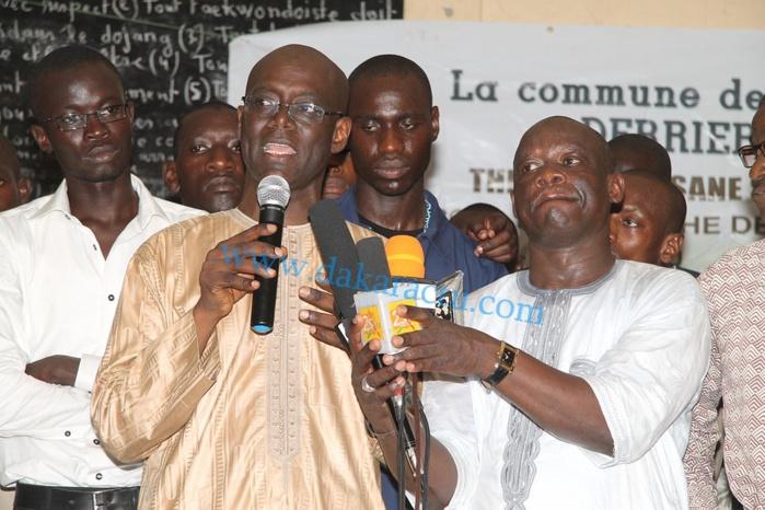 Les images de la conférence de presse de l'ancien ministre des transports et candidat malheureux aux locales Thierno Alassane Sall