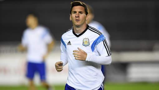 Lionel Messi prêt pour le match de sa vie