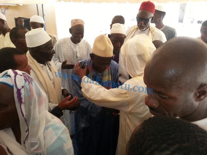 Ziara général  famille Cheikh Amadou  BA à Ndande: Sheikh  Alassane Sène retourne en terre bénie