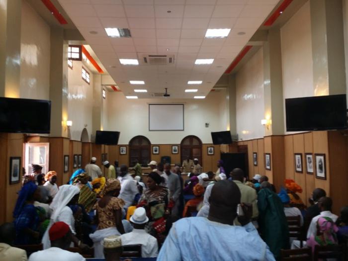 La cérémonie d'installation du nouveau Conseil municipal de Saint-Louis.