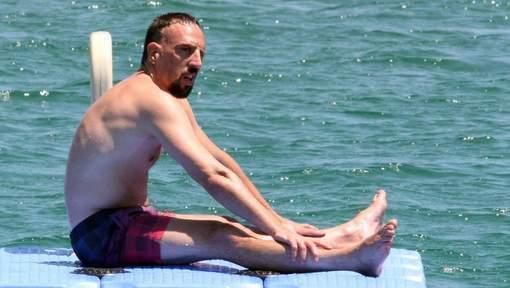 Ribéry de retour et heureux pour les champions du monde