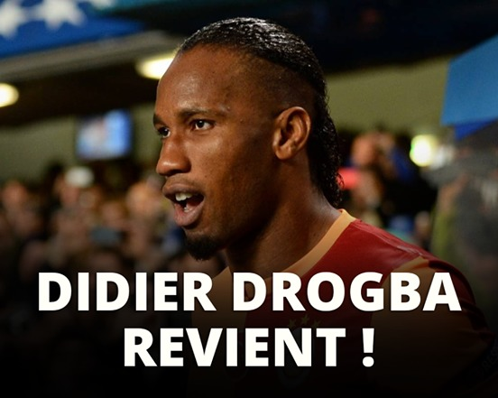 Drogba revient à Chelsea