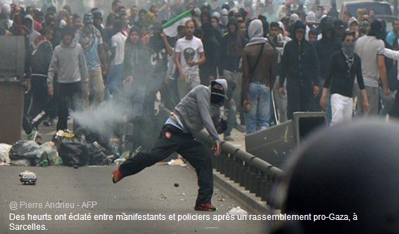 MANIFESTATION PRO-GAZA: SARCELLES, THÉÂTRE À SON TOUR DE VIOLENCES