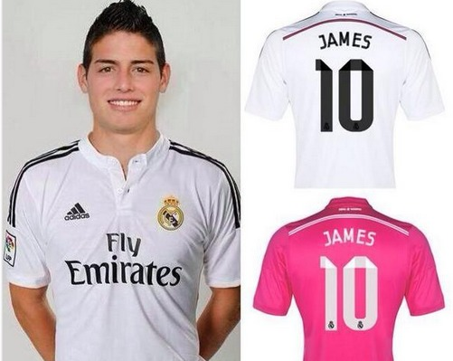 C'est officiel, James signe pour six ans au Real Madrid